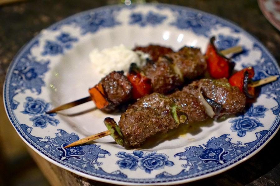 Spiced Beef Tenderloin Shishkatori