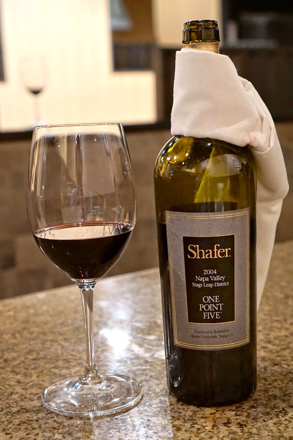 2004 Shafer Cabernet Sauvignon One Point Five