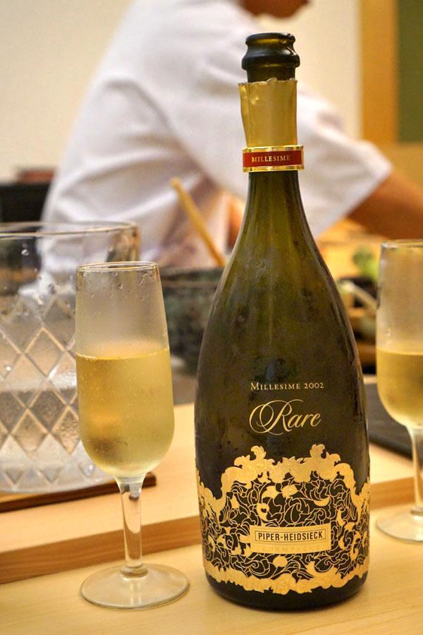 2002 Piper-Heidsieck Champagne Cuvée Rare