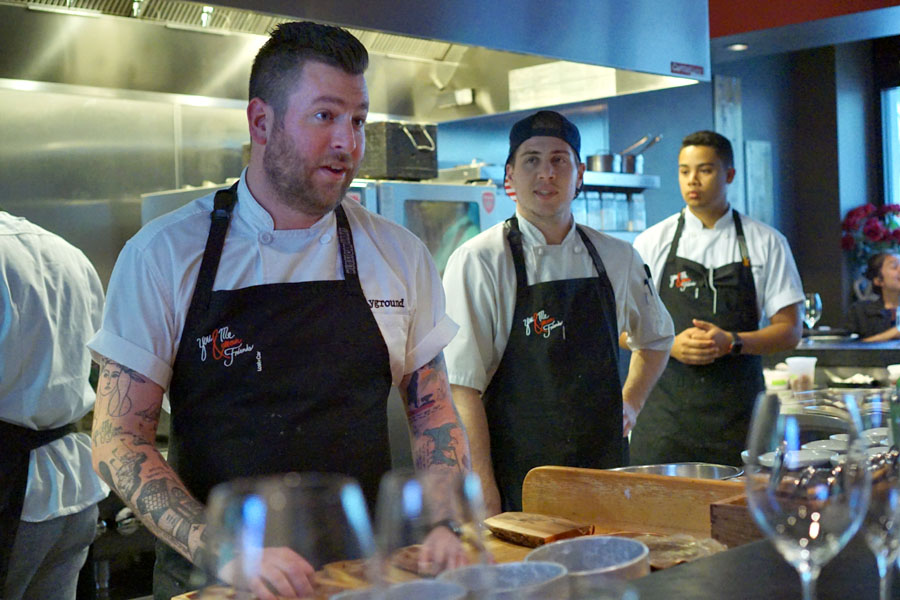 Chef Jason Quinn Talking, with Travis Larsh and Irie Murphy