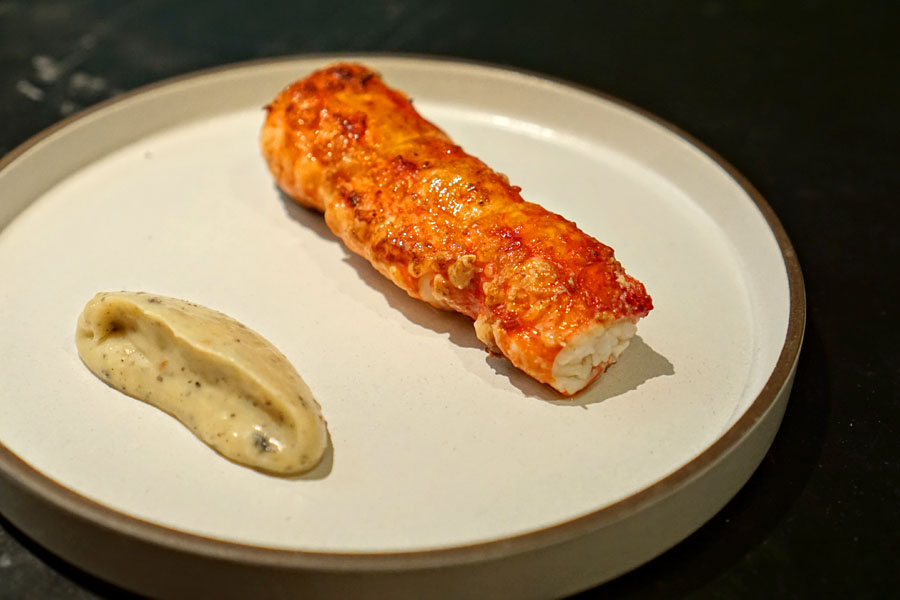 Faviken, Järpen, King Crab With Almost Burnt Cream