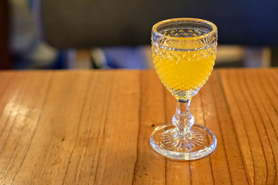 Orange Shrub with Fortified Wine