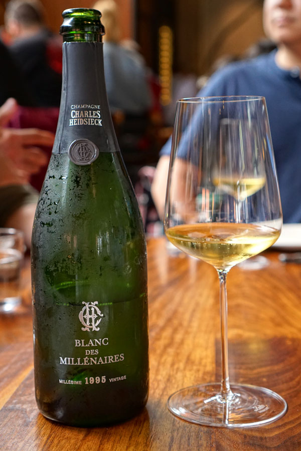 1995 Charles Heidsieck Champagne Blanc des Millénaires