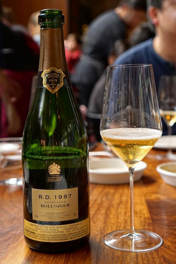 1997 Bollinger Champagne R.D. Extra Brut
