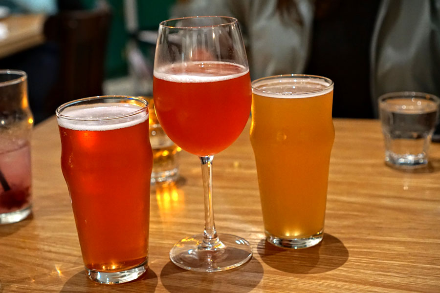 Anderson Valley, Framboise Rose Gose + Bruery Terreux, Fruit Punch, Sour + St. Bernardus, Witbier