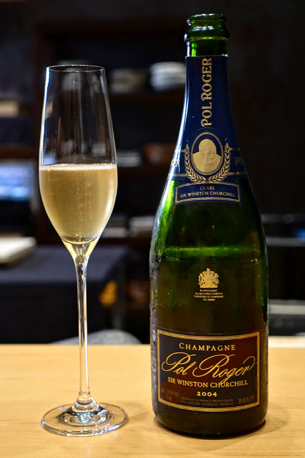 2004 Pol Roger Champagne Cuvée Sir Winston Churchill