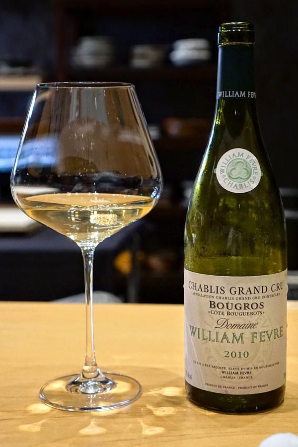 2010 Domaine William Fèvre Chablis Grand Cru Bougros Côte Bouguerots