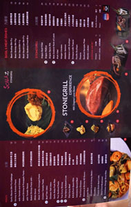 Scala Stonegrill Menu: Main, Basil & Meat Dishes, Stonegrill