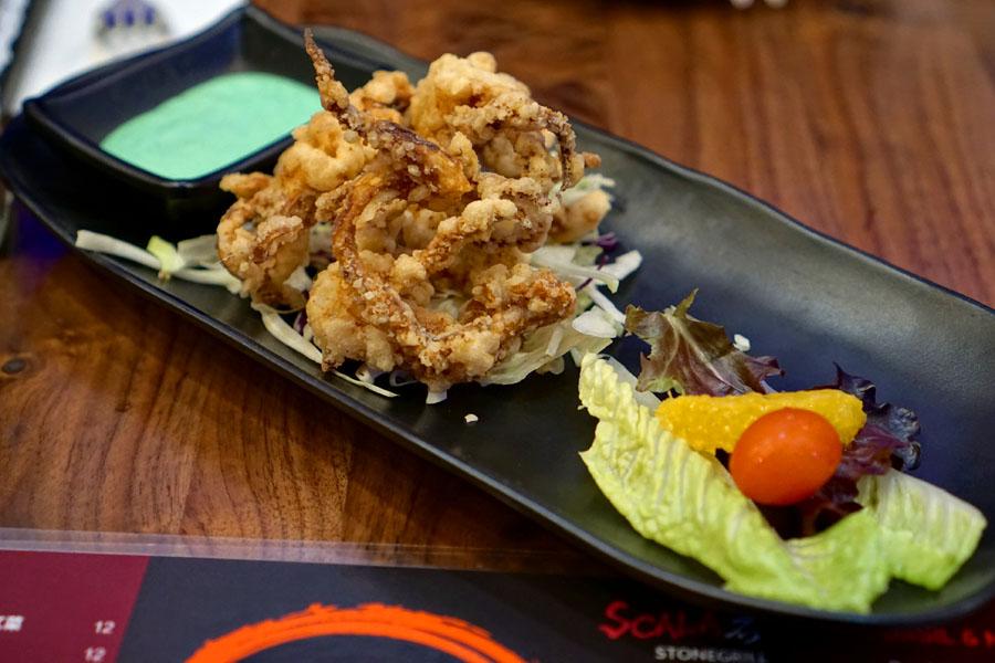 Japanese Fried Squid Legs
