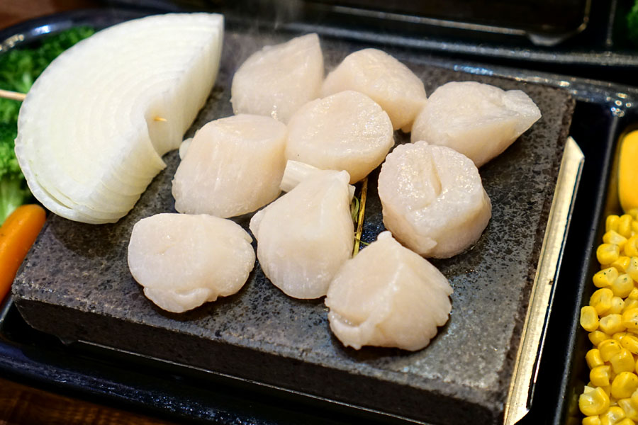 Pacific Scallops (Cooking)