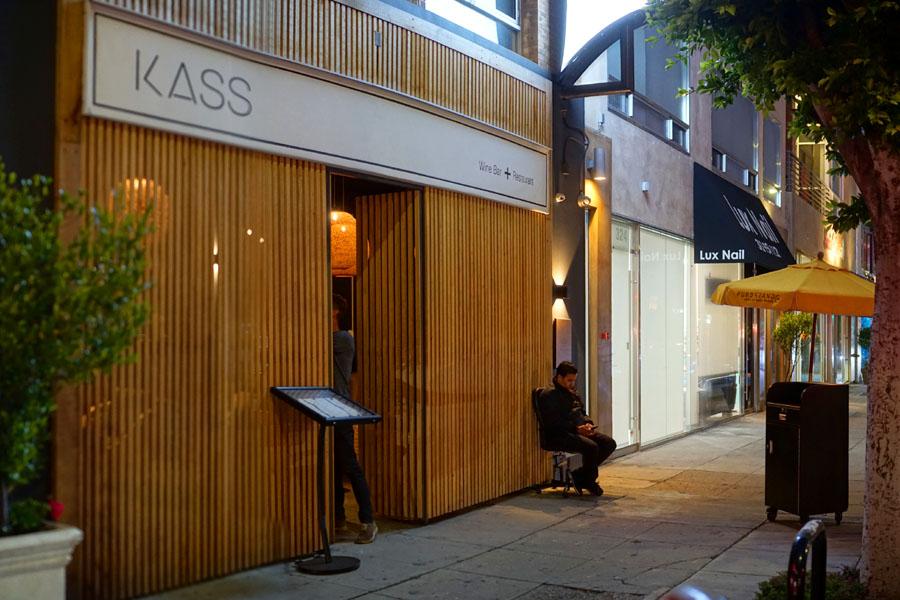 Kass Wine Bar + Restaurant Exterior