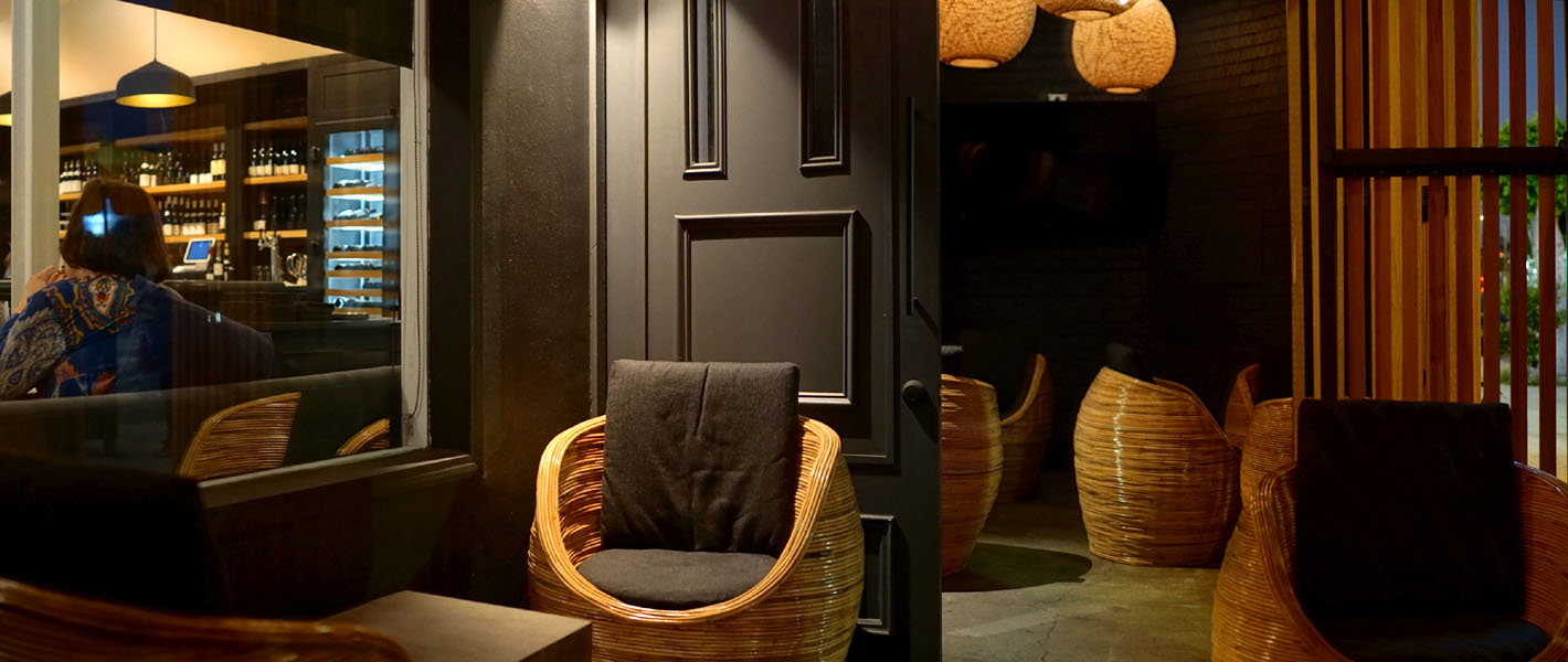 Kass Wine Bar + Restaurant Waiting Area