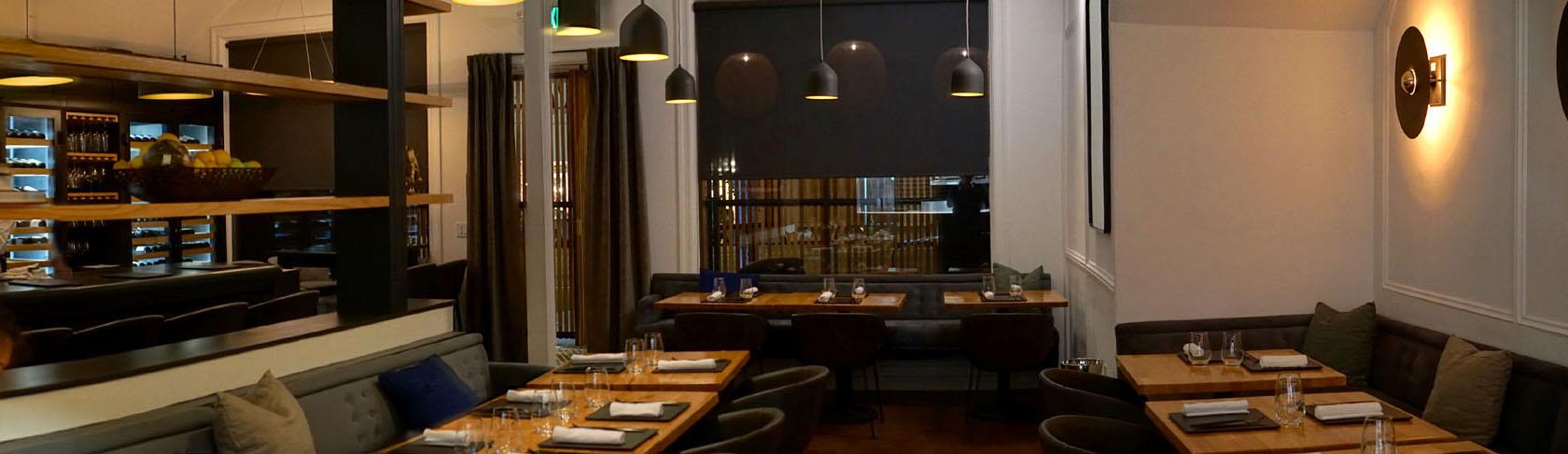 Kass Wine Bar + Restaurant Interior