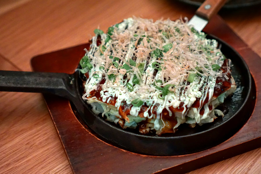 Okonomiyaki - pork belly