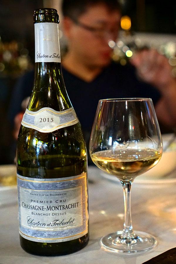 2015 Chartron et Trébuchet Chassagne-Montrachet 1er Cru Blanchots Dessus