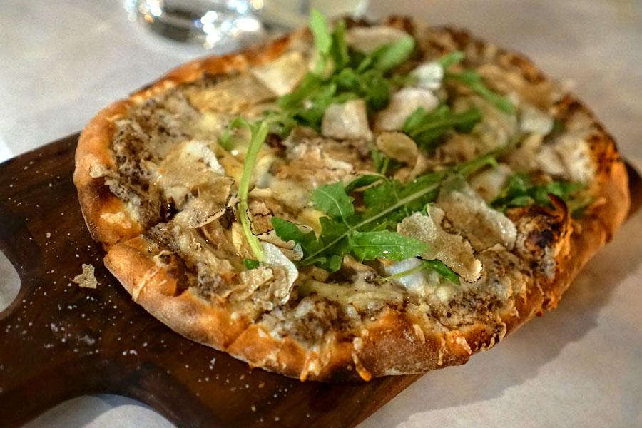 Mushroom, Truffle Flat Bread