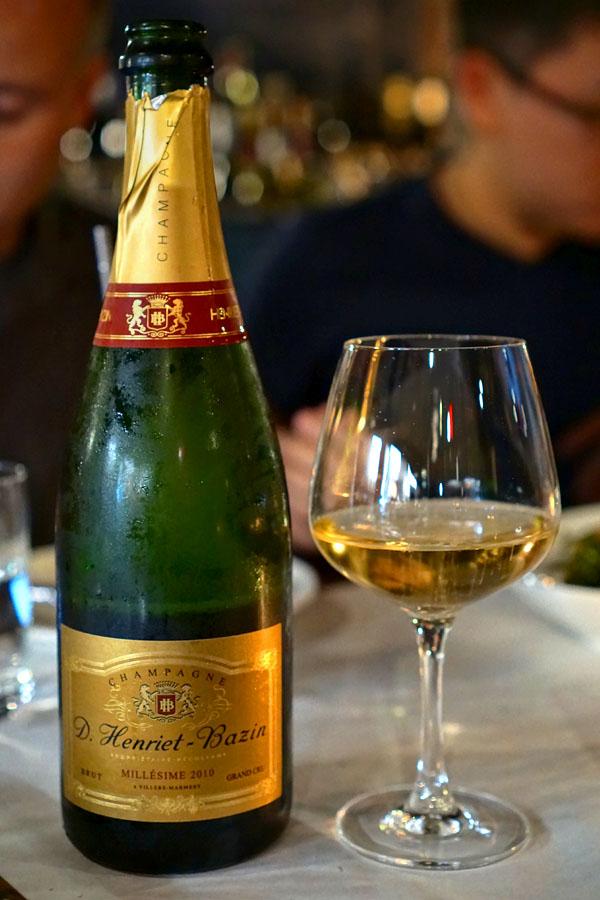 Pinot Noir Blend, d. henriet-bazin, brut grand cru | 2010 champagne, fra