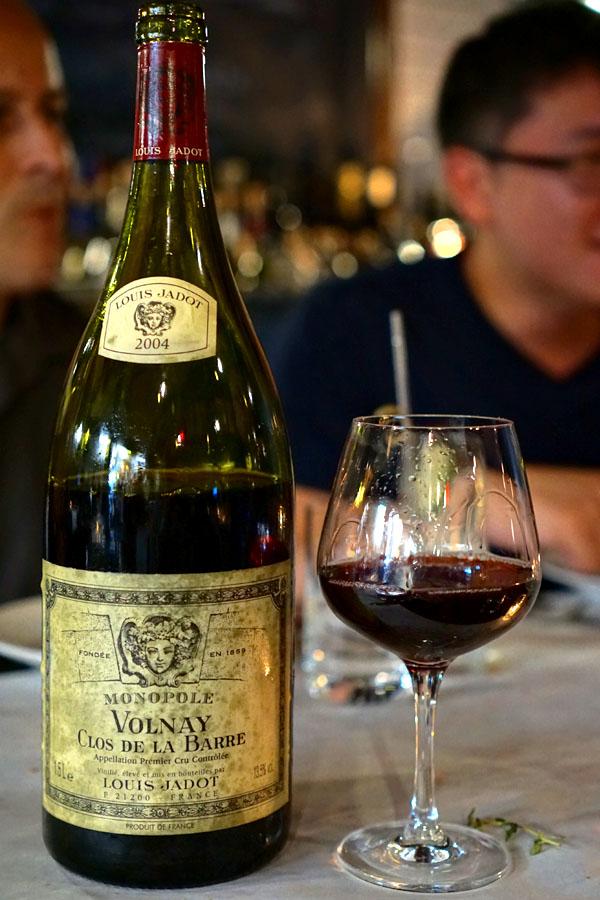 2004 Louis Jadot Volnay 1er Cru Clos de la Barre