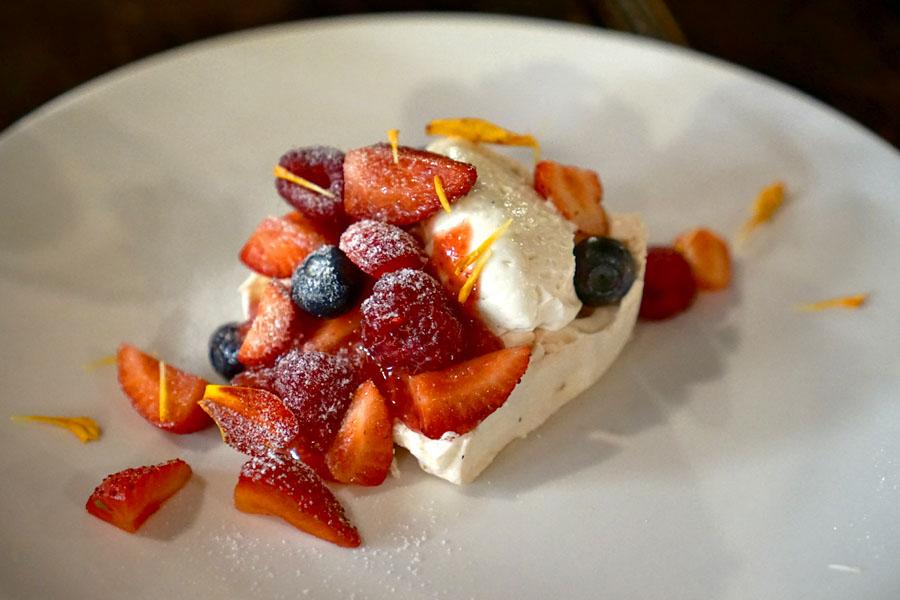 Market Berries Pavlova