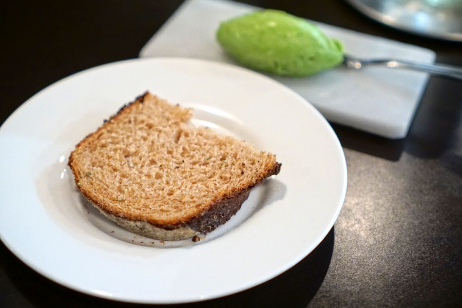 Rosemary-Thyme Bread and Basil-Mint-Parsley Butter