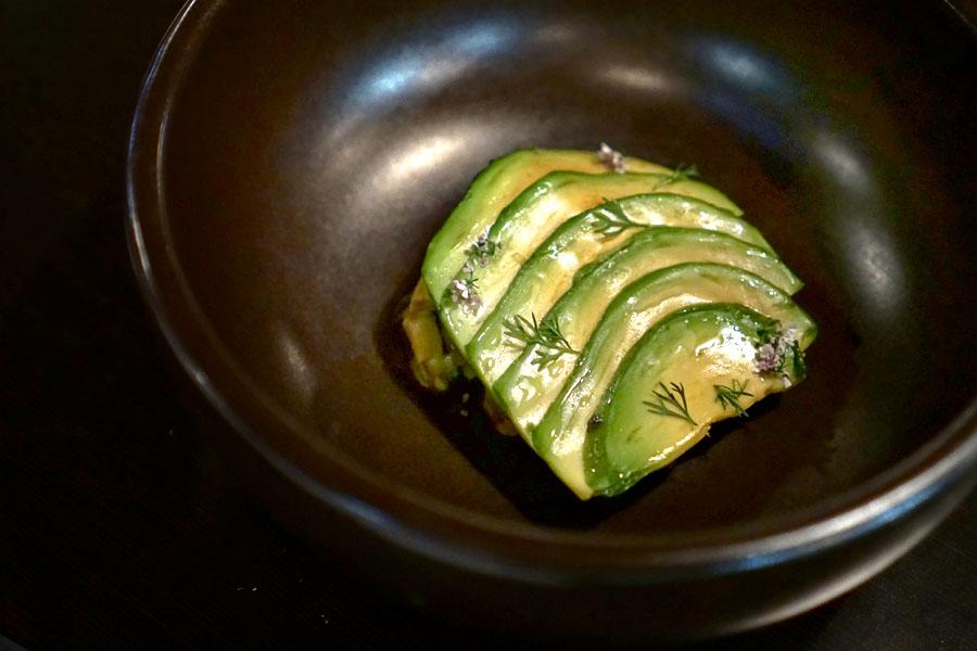 'Avocado in a Mole of Itself'