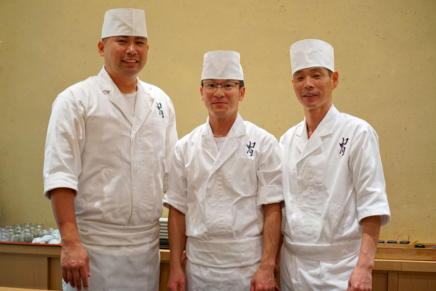 Ishi-san, Toshi-san, Ken Hosoki