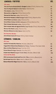 Jaleo Wine List: Generoso/Fortified, Espumoso/Sparkling