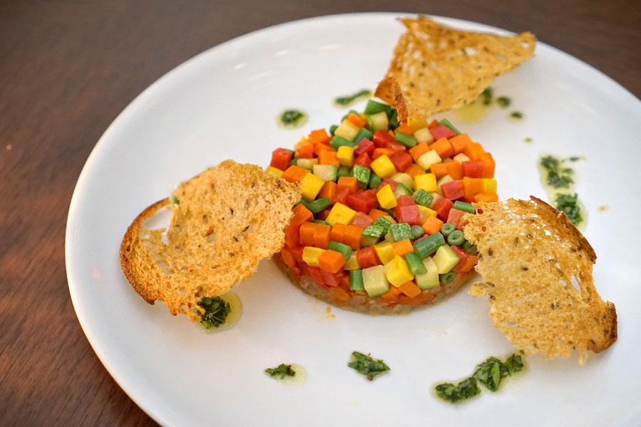 Vegetable Mosaic