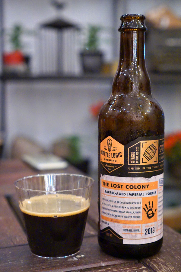 2018 Bottle Logic The Lost Colony