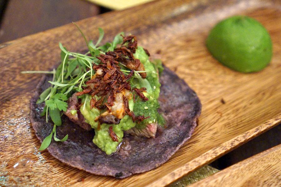 Rib Eye Taco