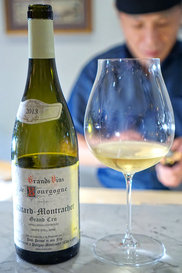 Paul Pernot, Bâtard-Montrachet Grand Cru, 2013