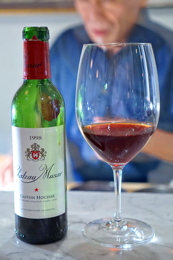 Chateau Musar, Red Blend, Lebanon, 1998