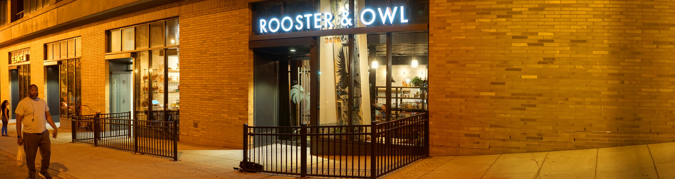 Rooster & Owl Exterior