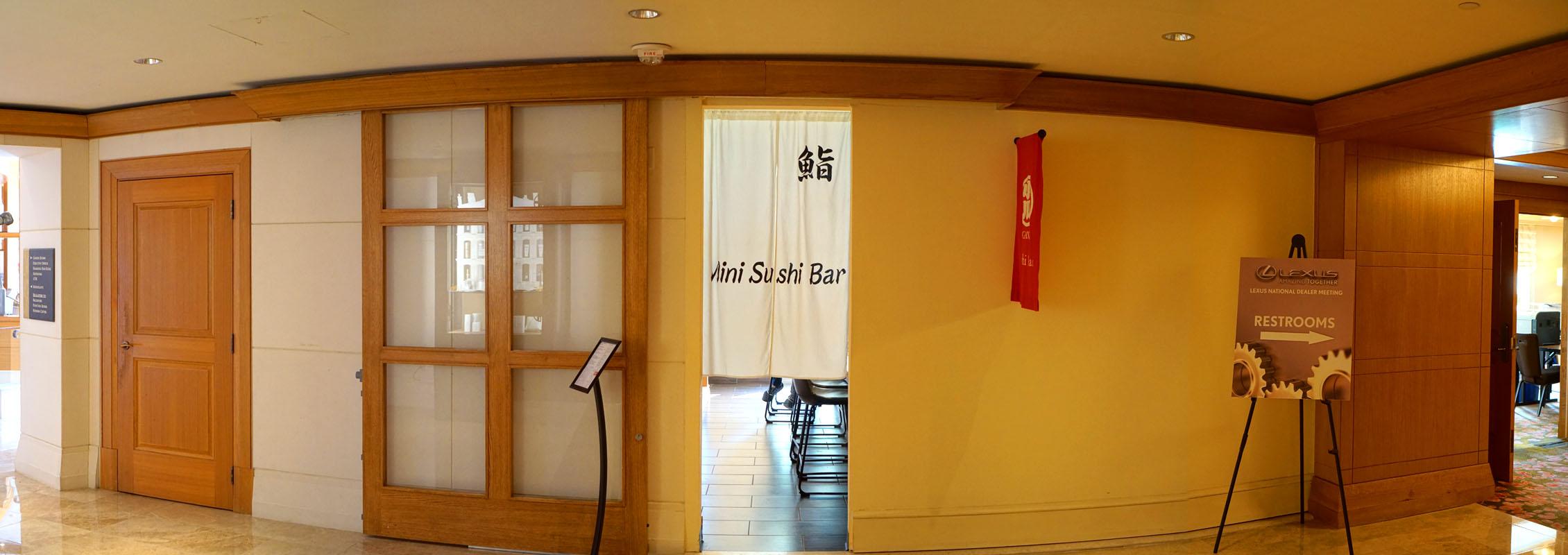 Mini Sushi Bar Exterior