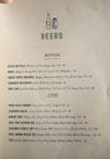 Birdie G's Beer List