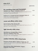 Haewah Dal Wine List