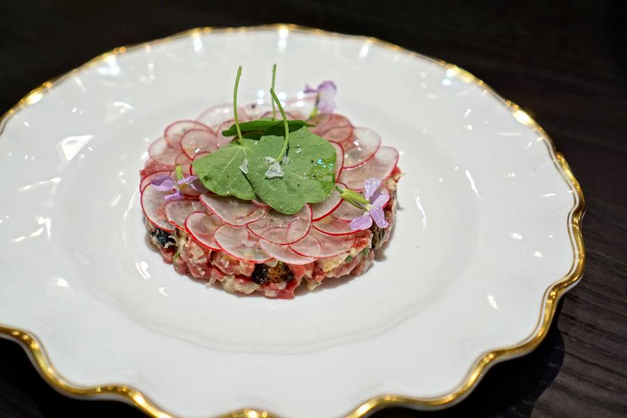 tartare de bœuf
