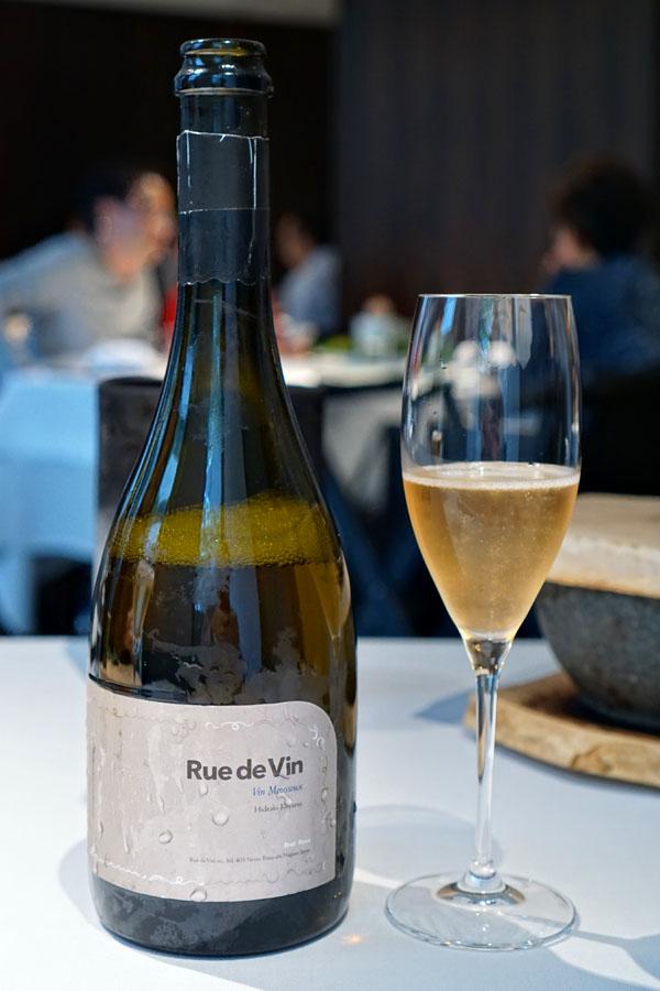 NV Vin Mousseux 'Spécial', Rue de Vin, Chardonnay/Pinot Noir, Rose, Nagano