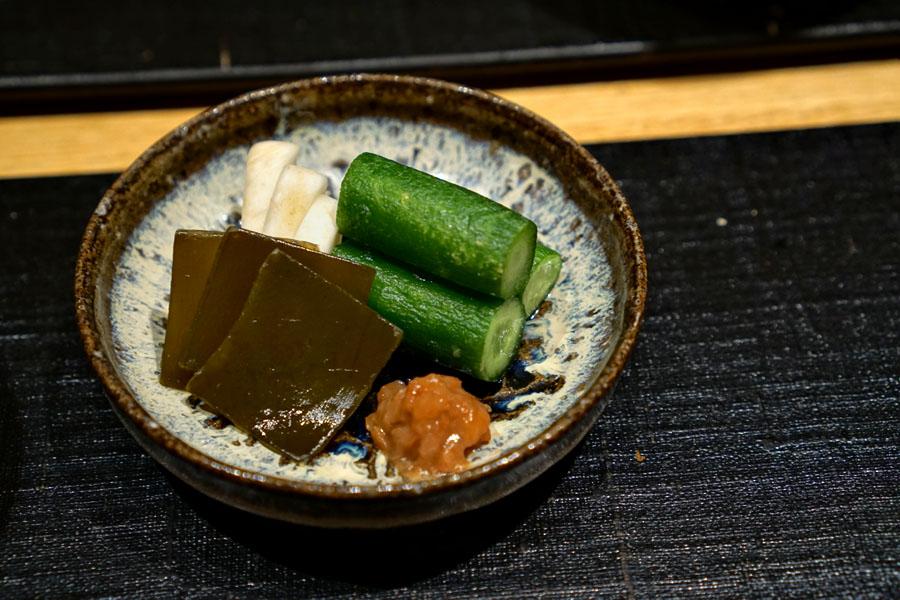Shokuji (Tsukemono)