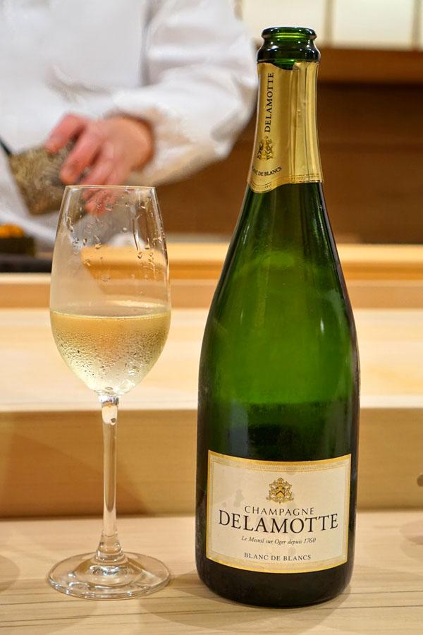NV Delamotte Champagne Blanc de Blancs Brut