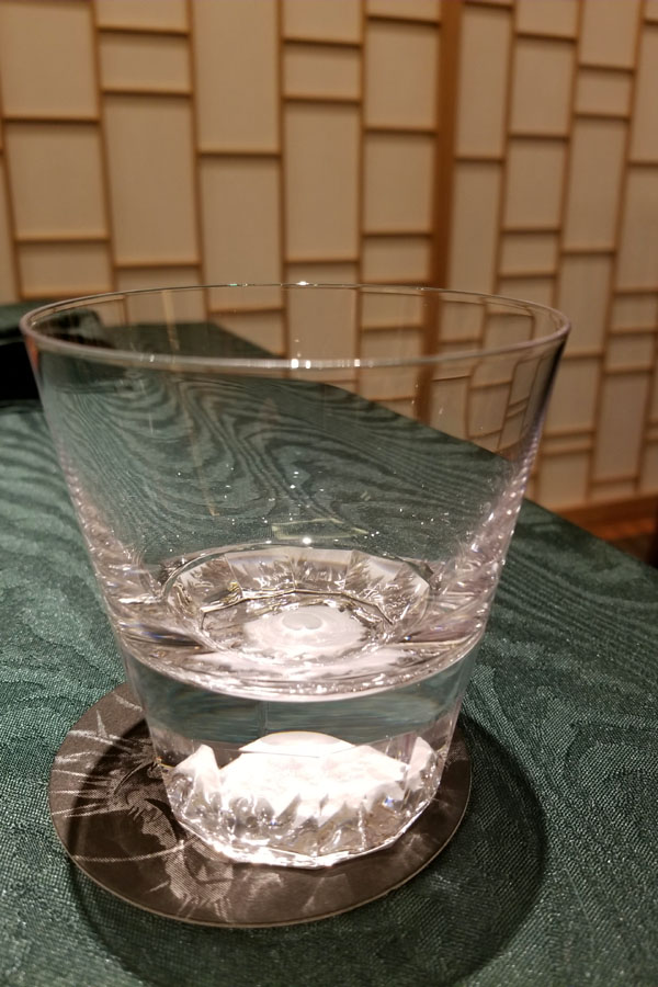 Nihonryori RyuGin Water Glass