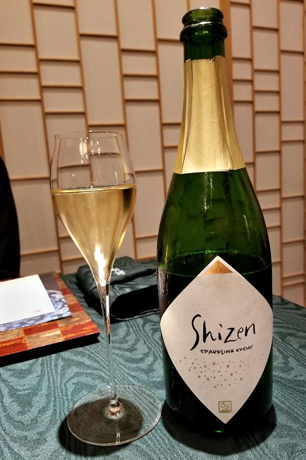2015 Shizen Sparkling Koshu