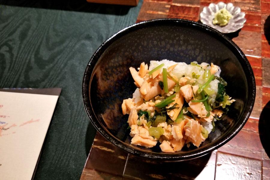 Salmon, Mitsuba