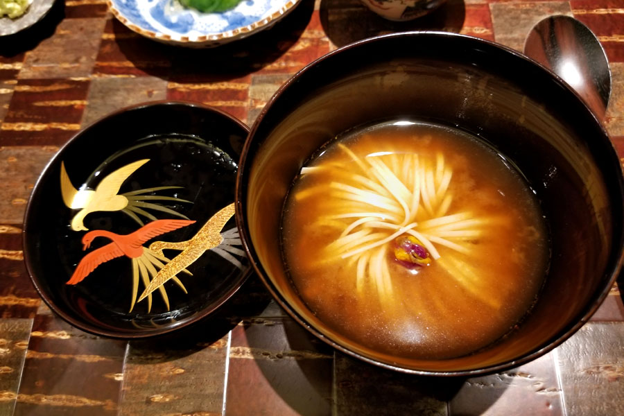 Japan's National Flower Chrysanthemum Soup