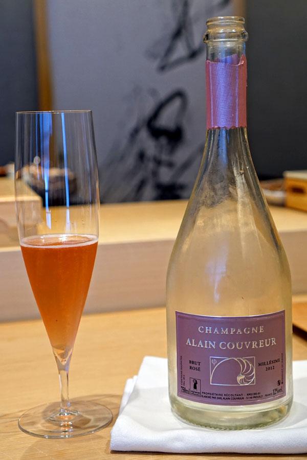 2012 Alain Couvreur Champagne Rosé Brut
