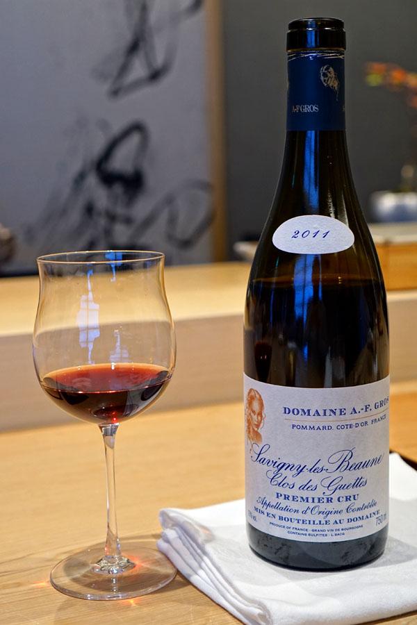 2011 Domaine A.-F. Gros Savigny-lès-Beaune 1er Cru Clos des Guettes