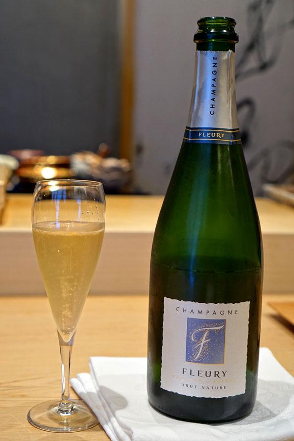 2013 Fleury Pere & Fils Champagne Fleur de l'Europe Brut Nature