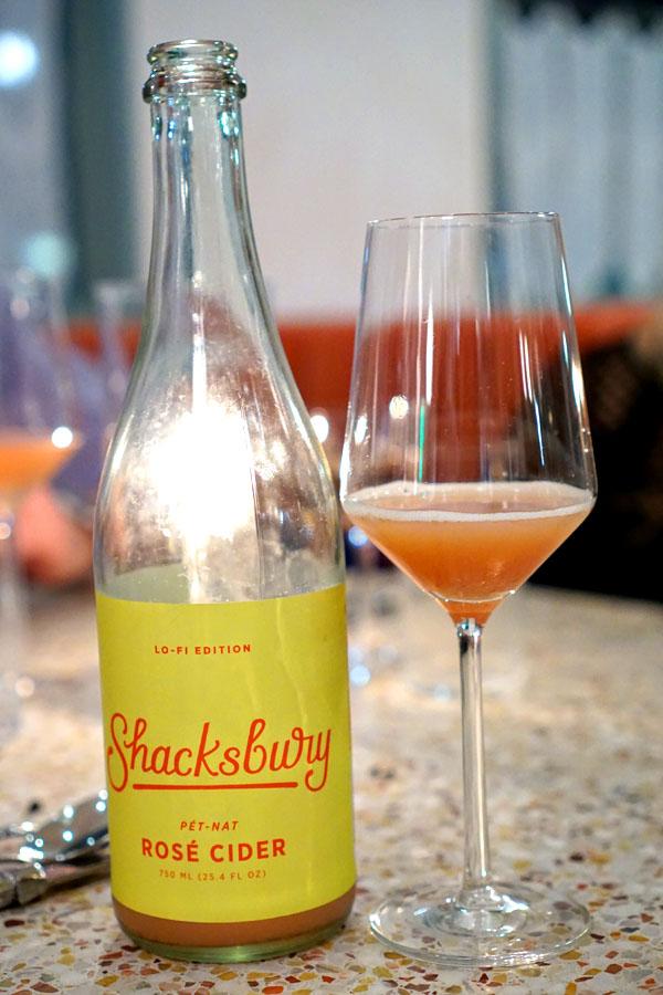 Cider Pét-Nat Rosé '18, Shacksbury / Lo-fi, Vergennes, VT