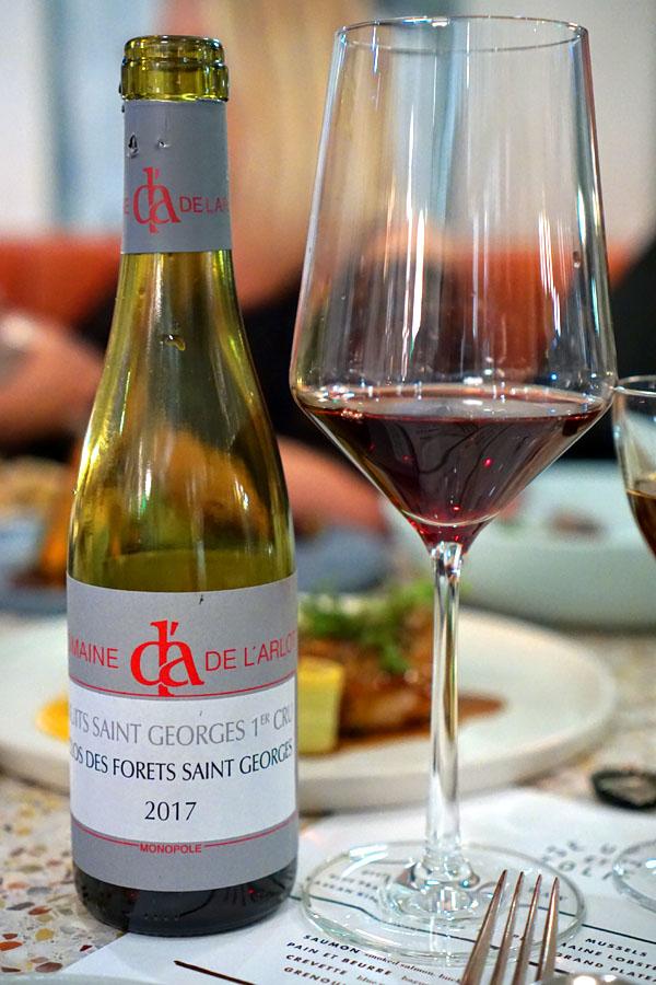 Pinot Noir '17, Domaine De L'Arlot, Nuits St. Georges 1er Cru, FR