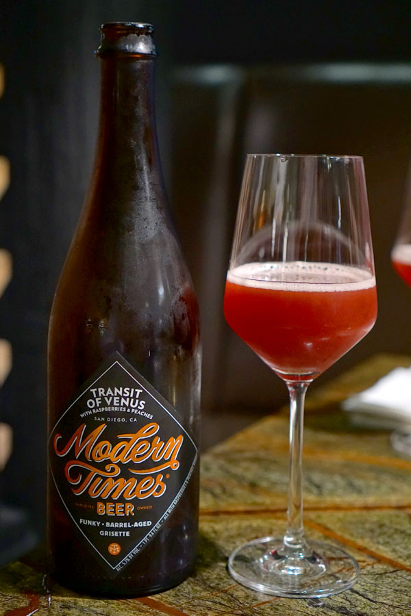 2018 Modern Times Transit of Venus with Raspberries & Peaches